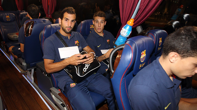 Montoya and Tello.Ph: MIGUEL RUIZ-FCB.