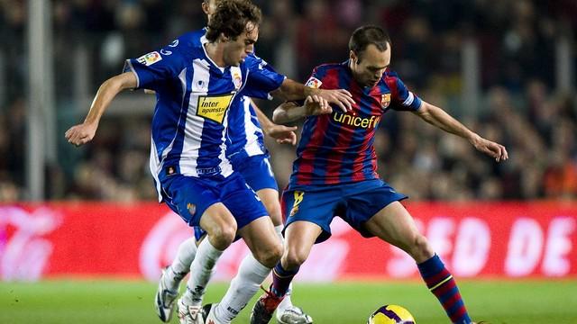 Iniesta v. Espanyol