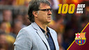 100 days with Tata Martino on the FC Barcelona bench