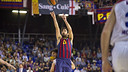 Navarro scored 20 points on a spectacular night. PHOTO: V. SALGADO . FCB