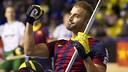 Marín was the seven-goal hero / PHOTO: VÍCTOR SALGADO - FCB