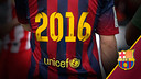 FC Barcelona is extending its alliance with Unicef until 2016