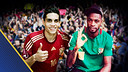 Photo montage of Song and Bartra. PHOTOS: Instragram