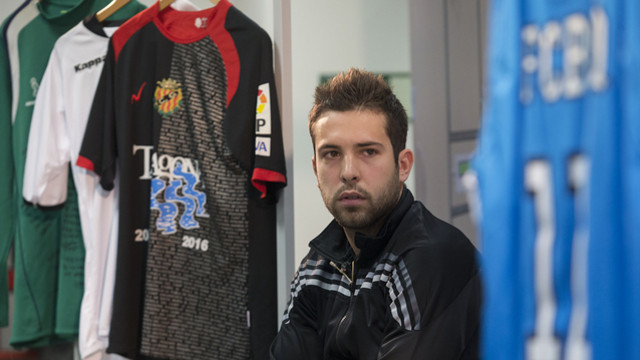 Alba during a promotional event