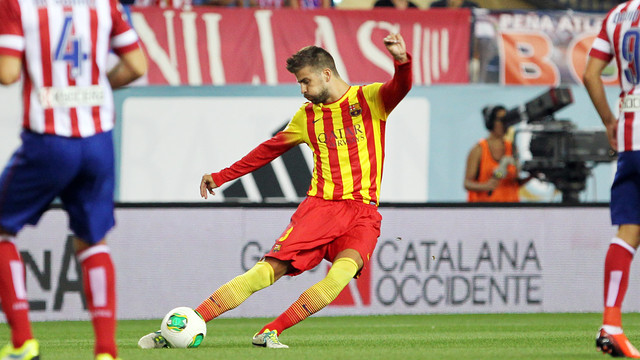 Piqué in an archive image. PHOTO: MIGUEL RUIZ - FCB