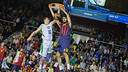Abrines, devant Gladyr. PHOTO: GERMÁN PARGA- FCB