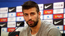 Piqué is confident the team will bounce back / PHOTO: ARXIU FCB