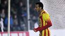Pedro celebrating one of his two goals / PHOTO: MIGUEL RUIZ - FCB