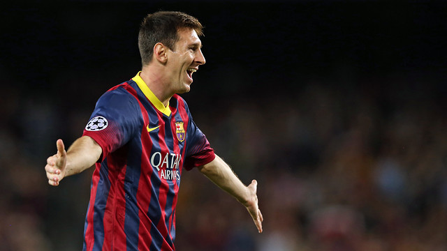Leo Messi is set to make his comeback against Getafe / PHOTO: FCB ARCHIVE