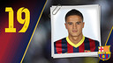 Imatge oficial d'Afellay amb la samarreta del FC Barcelona