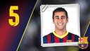 Imatge oficial de Gabriel amb la samarreta del FC Barcelona