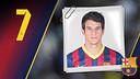 Imatge oficial de Pablo Álvarez amb la samarreta del FC Barcelona