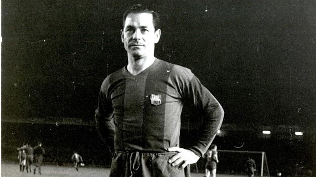 Josep Seguer. PHOTO: FCB ARCHIVE