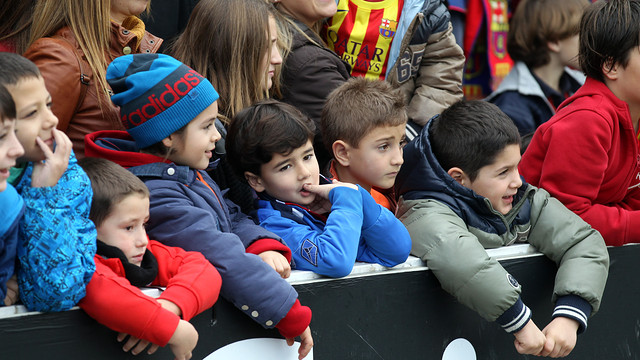 Barça Fans at Miniestadi FOTO: MIGUEL RUIZ - FCB