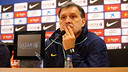 Tata Martino spoke to the press ahead of Sunday's game with Elche / PHOTO: MIGUEL RUIZ - FCB