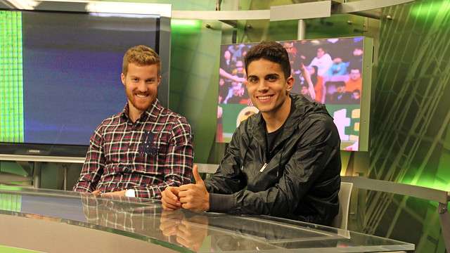 Oriol Rosell and Marc Bartra