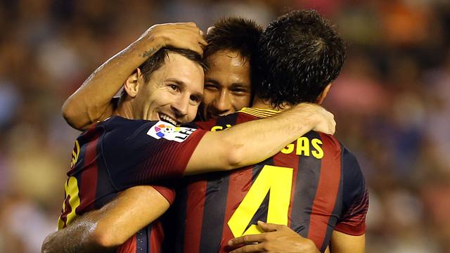 Leo Messi / PHOTO: MIGUEL RUIZ-FCB
