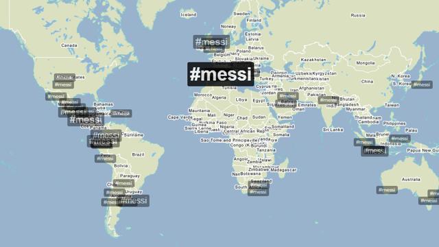 Messi, Trending Topic vs Getafe