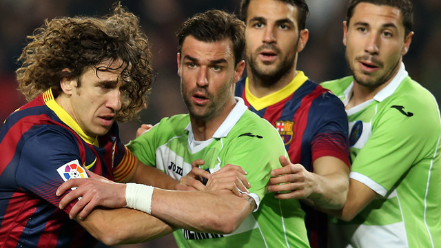 Puyol and Cesc helped FCB to a marvellous win / PHOTO: MIGUEL RUIZ-FCB