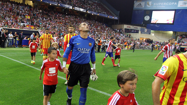 Atlético and Barça face each other with the league leadership at stake / PHOTO: MIGUEL RUIZ-FCB