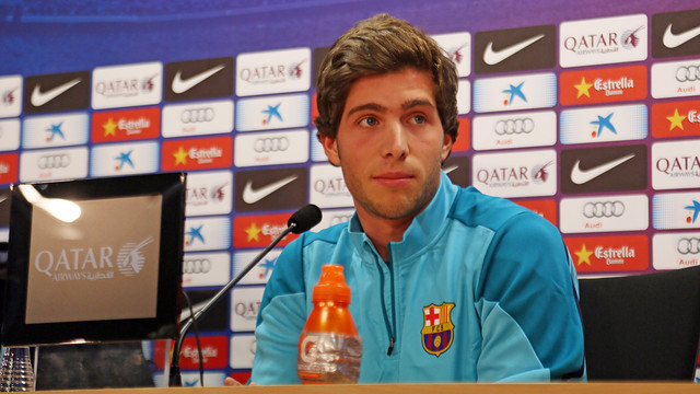 Sergi Roberto / PHOTO: MIGUEL RUIZ - FCB