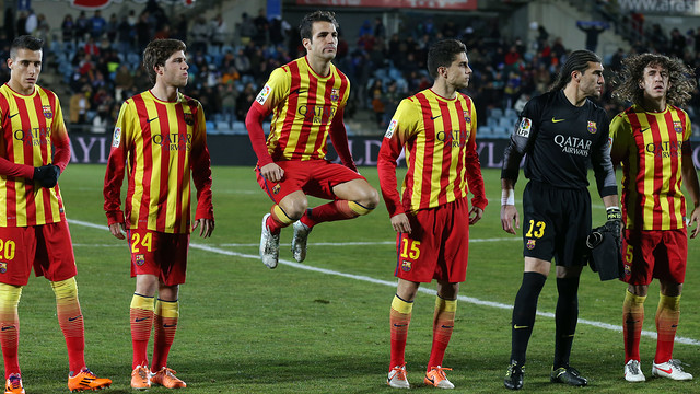 Cesc Fàbregas was in the first eleven against Getafe / PHOTO: MIGUEL RUIZ - FCB