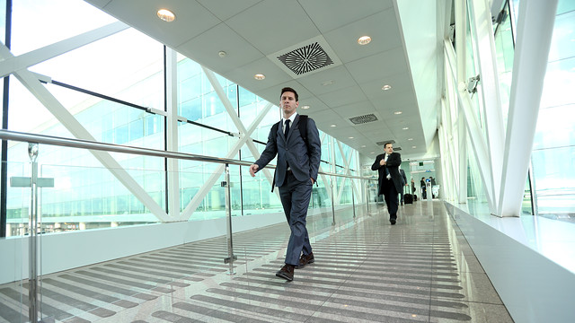 Messi at the airport. PHOTO: MIGUEL RUIZ - FCB