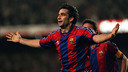 Juan Antonio Pizzi spent two seasons at Barça / PHOTO: ARXIU FCB