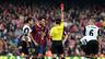 Jordi Alba sees red