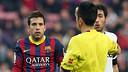 Jordi Alba. PHOTO: MIGUEL RUIZ-FCB.