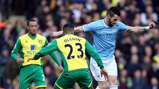 Negredo started the game against Chelsea on the bench / PHOTO: mcfc.co.uk