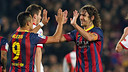 Puyol formed the central defensive partnership with Piqué one year later / PHOTO: MIGUEL RUIZ - FCB