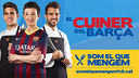 Carme Ruscalleda, Marc Bartra and Cesc Fàbregas are the public face of the 'Som el que mengem' project.