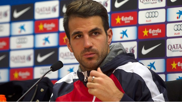 Cesc / PHOTO: ARCHIVE FCB