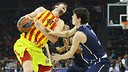 Tomic v Efes. PHOTO: euroleague.net