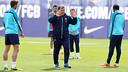 Martino, a l'entrenament. FOTO: MIGUEL RUIZ-FCB.