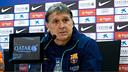 Martino, en roda de premsa / FOTO: MIGUEL RUIZ-FCB