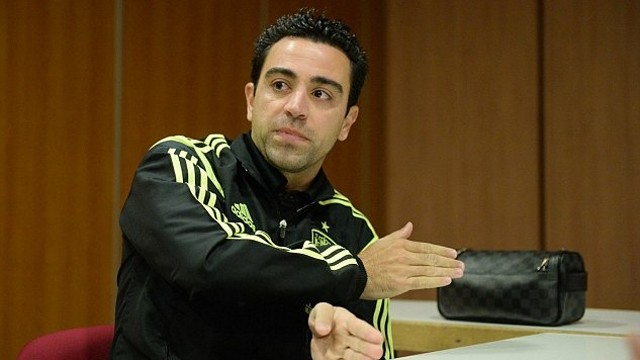 Xavi spoke to the Daily Mail while he was in Madrid earlier this week / PHOTO: Daily Mail (Andy Hooper)