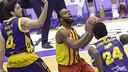 Pullen ha anotat 42 punts (12 triples) i ha fet història a la lliga / FOTO: ACB.COM
