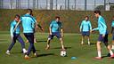 L'equip ha començat a preparar el partit contra el City / FOTO: MIGUEL RUIZ - FCb