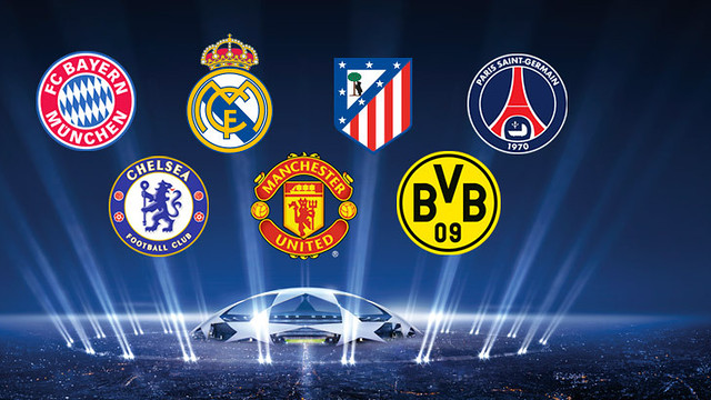 FC Barcelona's possible rivals in the Champions League