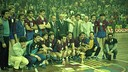 L'équipe qui a remporté la Coupe. / PHOTO:ARXIU-FCB