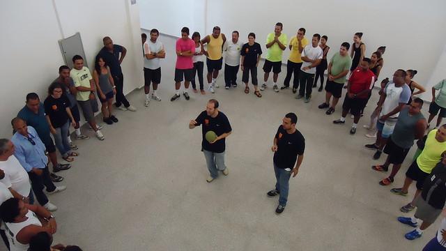Seminary for instructors at 'FutbolNet' in Rio de Janeiro