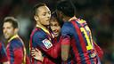 Neymar celebrates / PHOTO: MIGUEL RUIZ - FCB
