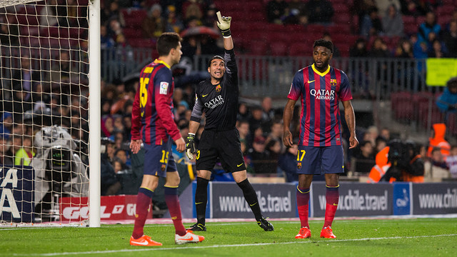 Pinto, contra el Celta.