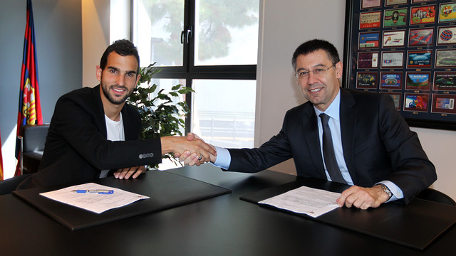 Montoya will stay at FCB for at least another four seasons. PHOTO: MIGEUL RUIZ-FCB.