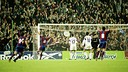 Nadal's goal against Fiorentina. PHOTO: Arxiu FCB