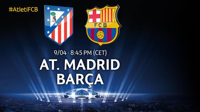 Atlético v FC Barcelona