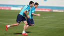 Busquets and Messi/ PHOTO: MIGUEL RUIZ-FCB