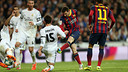 Messi, durante el 3-4 en el Bernabéu / FOTO: MIGUEL RUIZ-FCB